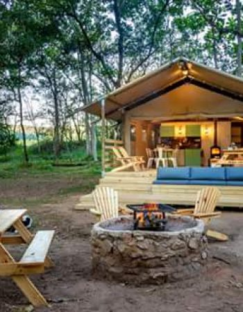 Glamping with Africamps at Mackers