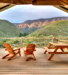 luxury tented camps western cape