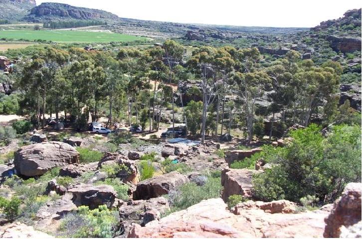 cederberg campsites western cape